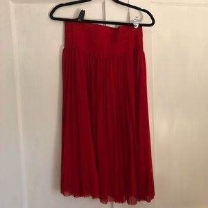 HD in Paris Pleated Red Skirt